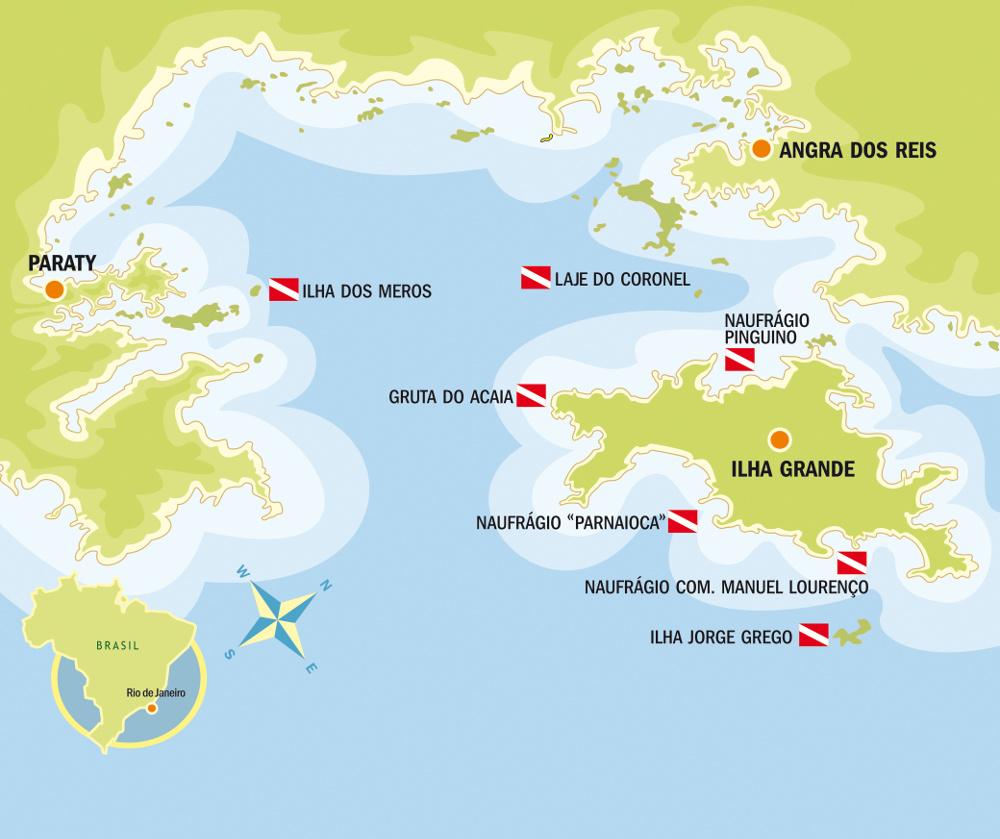 mapa: Divulgação