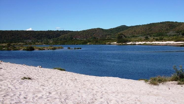 Praia do rio Paraguaçu (foto: Secretaria de Meio Ambiente e Turismo de Andaraí/Chapada Diamantina)