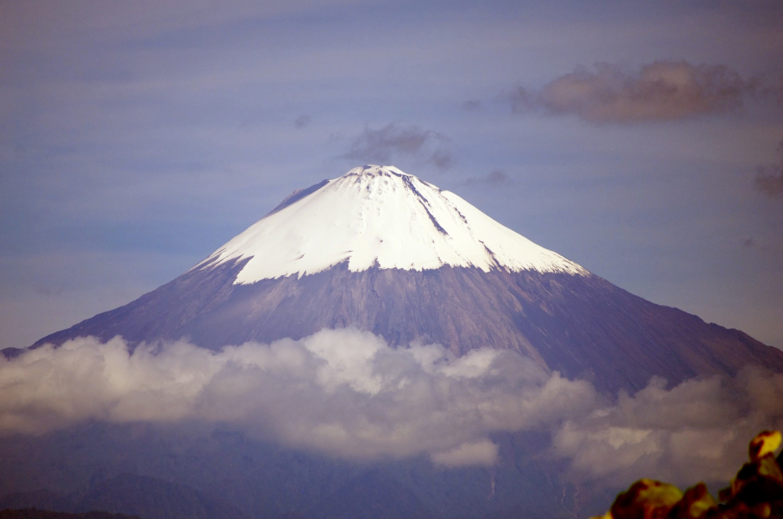 Vulcão Sangay (foto: Wikimedia Commons)