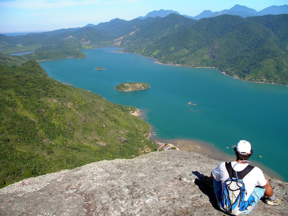 Vista do Saco do Mamanguá_(foto: Enterprise Paraty/Divulgação)