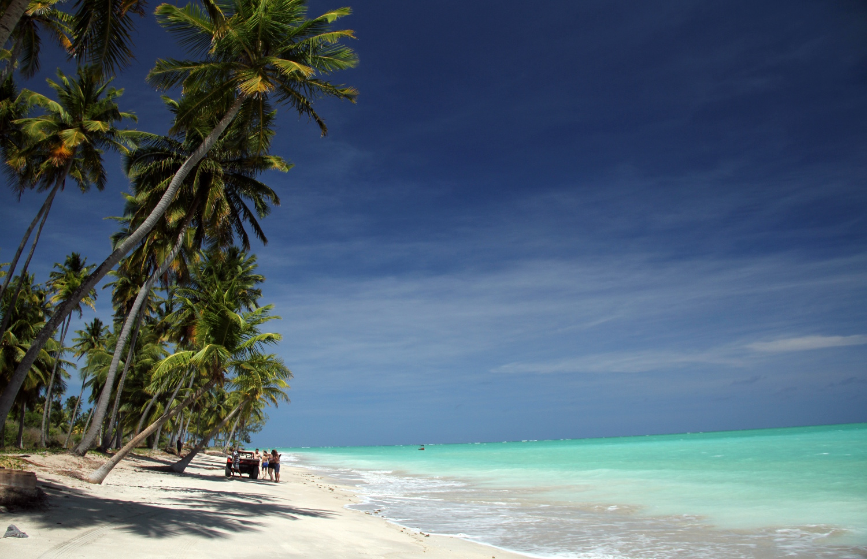 Praia de Antunes, no litoral norte de Maragogi (foto: Eduardo Vessoni)