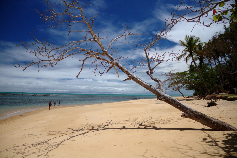 Praia do Satu, entre a Praia do Espelho e Caraíva, no sul da bahia (foto: Eduardo Vessoni)