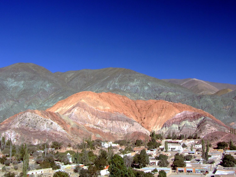 Cerro Siete Colores, em Purmamarca (foto: Eduardo Vessoni)