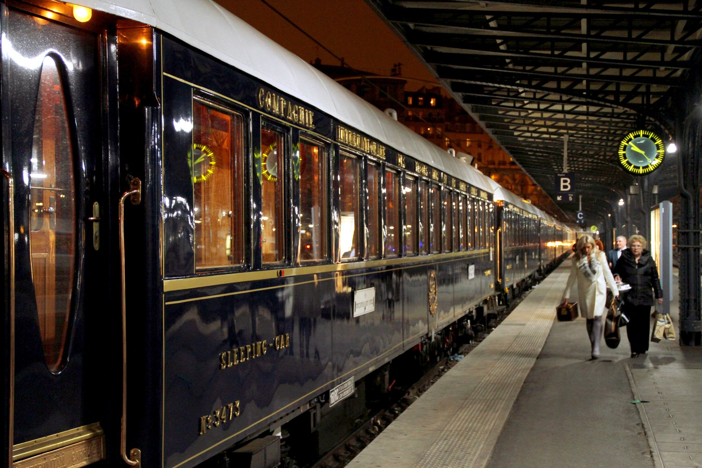Venice Simplon-Orient-Express, em Paris (foto: Eduardo Vessoni)
