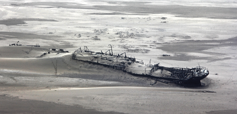 Skeleton Coast (foto: Namiboa Tourism Board/Divulgação)