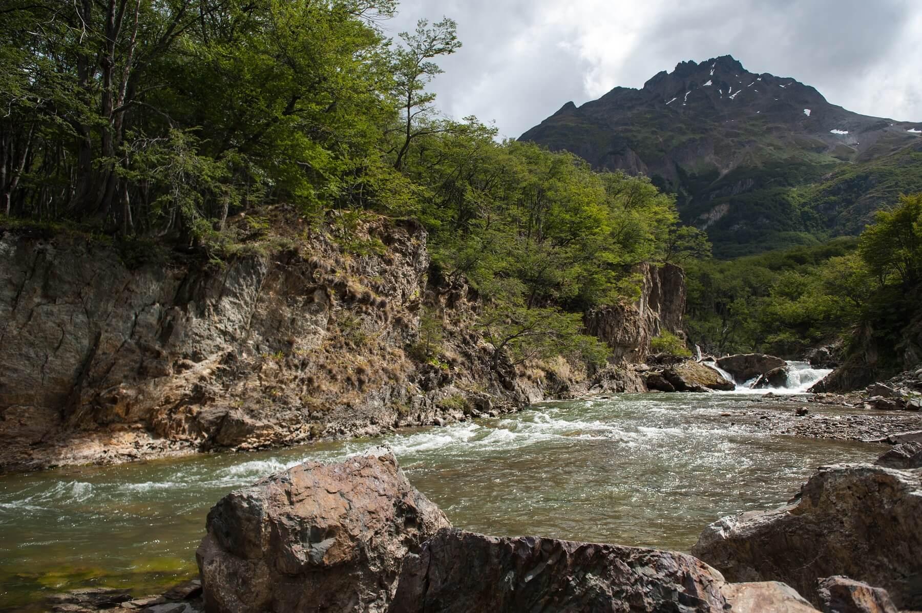 O Ushuaia, capital da Terra do Fogo, é um dos destinos que serviu de cenário para o filme 'O Regresso' (foto: Tierra del Fuego Secretaría de Turismo/Martin Gunter)