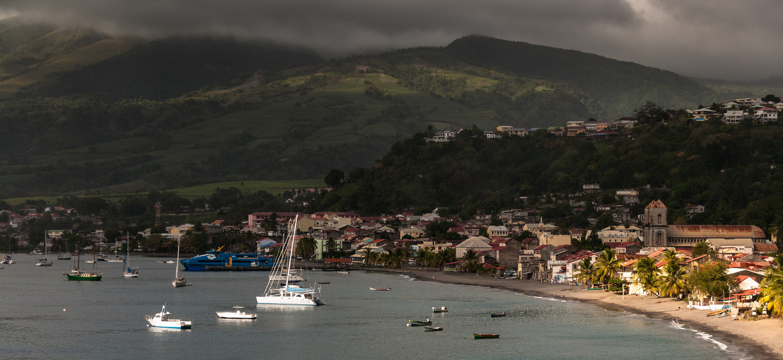 CARIBE: As ilhas francesas de Guadalupe e Martinica, uma espécie de versão caribenha da Europa, são as sugestões da revista Condé Nast Traveler, em 2016. Na foto, Saint Pierre, na Martinica (foto: Roberto Faccenda/Flickr-Creative Commons)