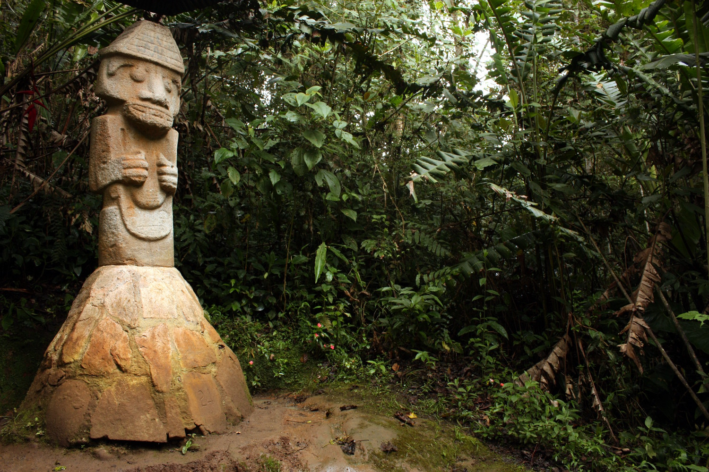 Bosque de las Estatuas, em San Agustín, na Colômbia (foto: Eduardo Vessoni)
