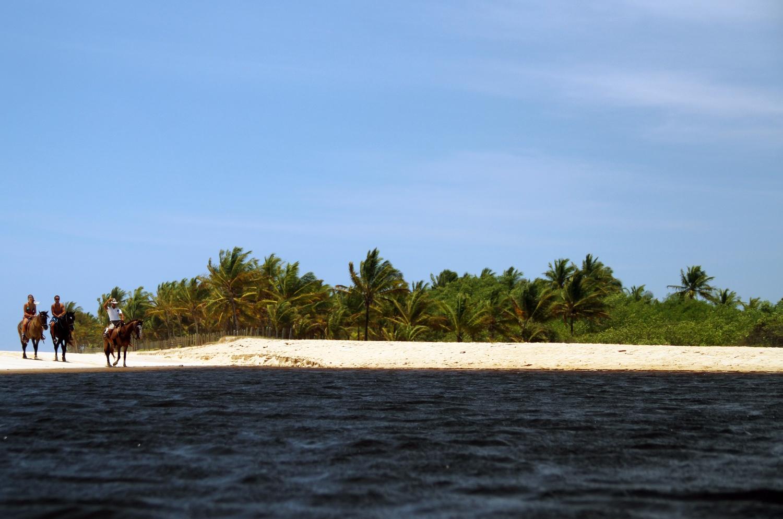 Rio da Barra, entre Arraial d'Ajuda e Trancoso, no sul da Bahia (foto: Eduardo Vessoni)
