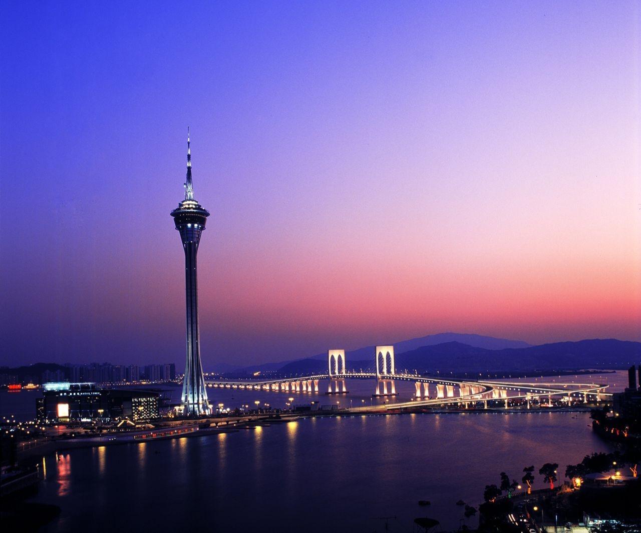 Vista de Macau (foto: ajhackett.com/Divulgação)