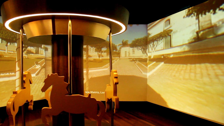 Sala 'Nossas Praças', no Museu da Gente Sergipana (foto: Eduardo Vessoni)