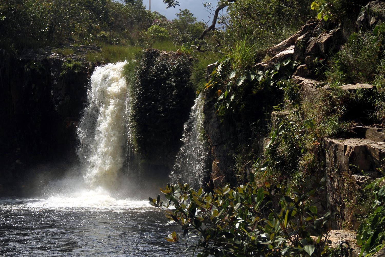 Cachoeira São Bento, próximo a Alto Paraíso (foto: Eduardo Vessoni)