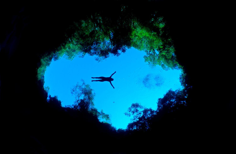 Lagoa Misteriosa, em Bonito (foto: Marcelo Krause/Divulgação)