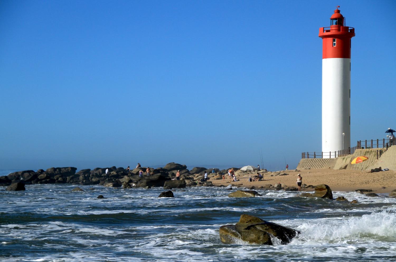 Umhlanga Beach, em Durban (foto: Eduardo Vessoni)