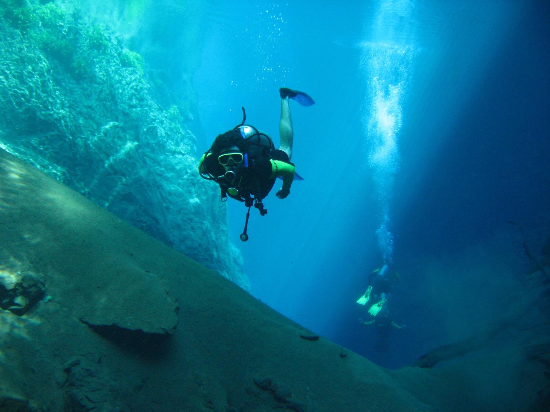 Interior da Lagoa Misteriosa, em Bonito (foto: Scuba Diving/Acervo)