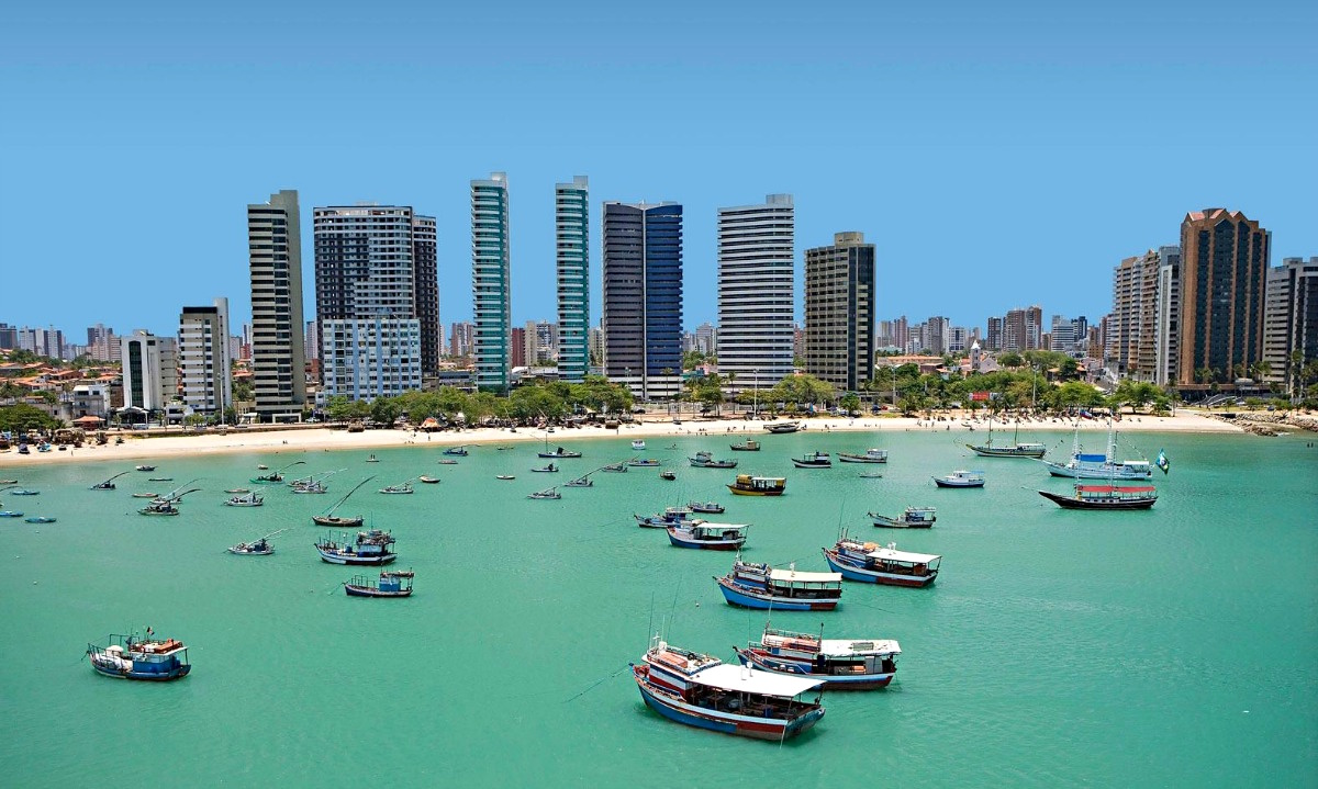 Fortaleza, capital do Ceará (foto: SeturCE/trivago)
