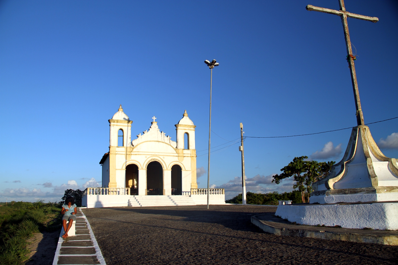 Igreja Bom Jesus Navegantes, em Laranjeiras, Sergipe (foto: Eduardo Vessoni)