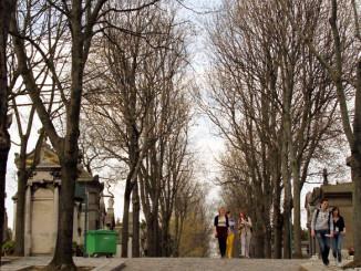 Cemitério  Père-Lachaise, em Paris (foto: Eduardo Vessoni)