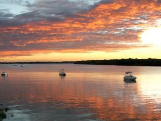 Orla Pôr do Sol, em Aracaju (foto: Eduardo Vessoni)
