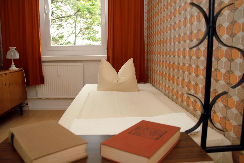 Quarto do Ostel, hotel temático em Berlim (foto: Eduardo Vessoni)