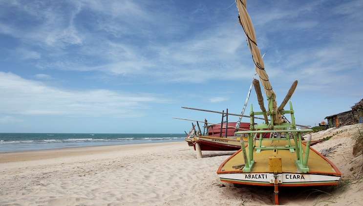Praia de Canoa Quebrada (foto: Rodolfo Vilela/MTur