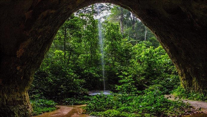 Caverna Refúgio do Maroaga (foto: Embratur/Divulgação)