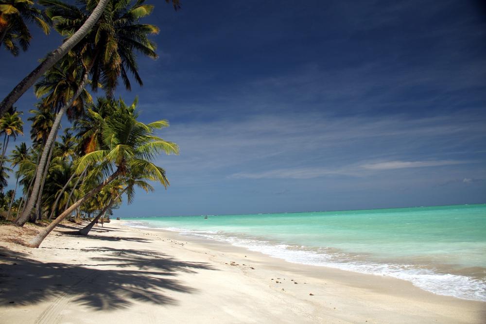 Praia de Antunes, em Maragogi (foto: Eduardo Vessoni)