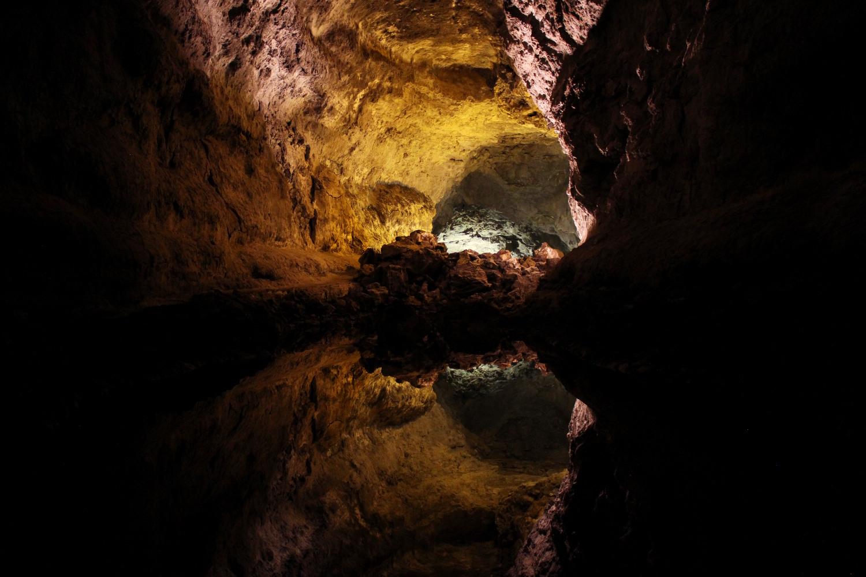 Interior da Cueva de los Verdes (foto: Eduardo Vessoni)