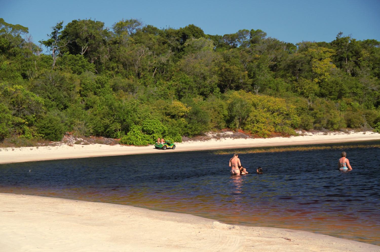 Lagoa da Coca Cola, no litoral sul do Rio Grande do Norte, a pouco menos de 100 km de Natal (foto: Eduardo Vessoni)