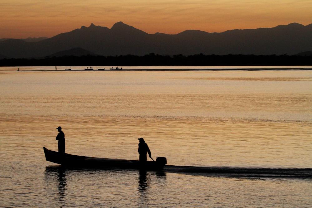 Região da travessia, entre Paraná e Santa Catarina (foto: Eduardo Vessoni)
