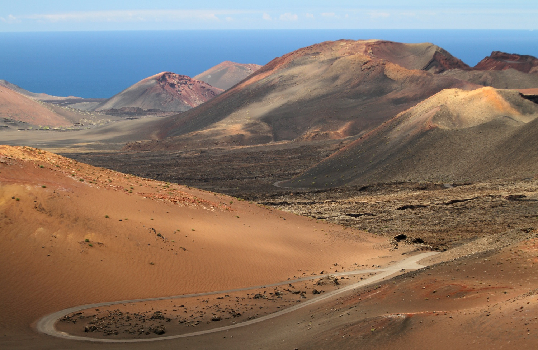 Parque Nacional de Timanfaya, em Lanzarote (foto: Eduardo Vessoni)