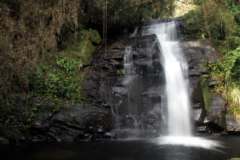 Trilha das Cachoeiras, no Parque Estadual da Serra do Mar, em Cunha (foto: Eduardo Vessoni)