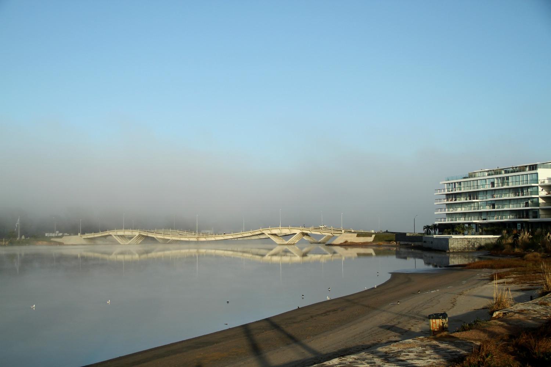 Puente Leonel Viera, entre Punta del Este e La Barra, no Uruguai (foto: Eduardo Vessoni)